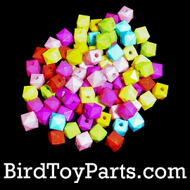Mini Faceted Beads